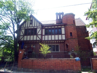 Rare for Bucharest exposed-brick house