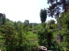 Courtyard of Nicolae Minovici's house