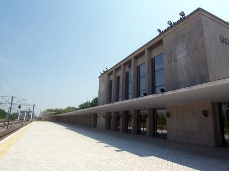 Baneasa train station, the Royal/Presidential terminal