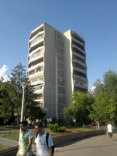 The slightly ritzier side of Communist accommodation, near the National Arena