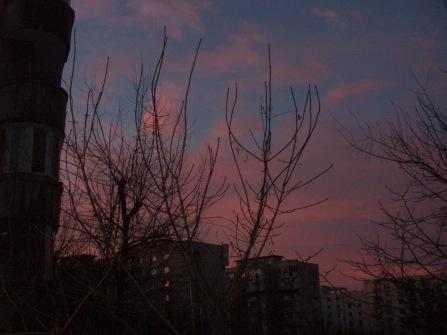 A purple evening in Vitan
