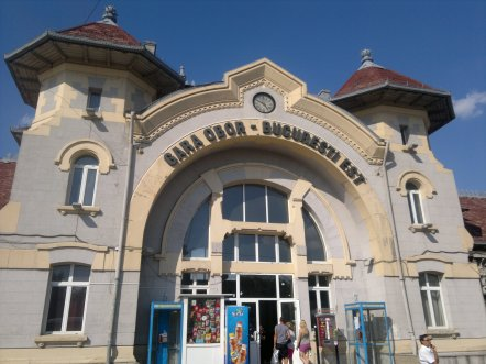 "A beautiful Neo-Romanian style edifice, sadly ""renovated"" with plastic windows"