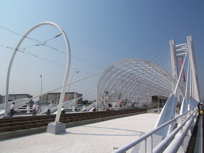 New passage, new tram